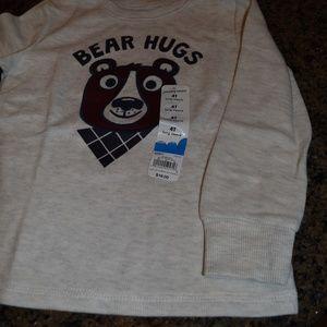 "jumping beans Shirts & Tops - NWT - Jumping Beans ""Bear Hugs"" Shirt - Size 4T"